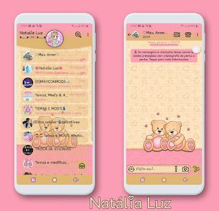 Teddy Bear Coupal Theme For YOWhatsApp & Fouad WhatsApp By Natalia Luz