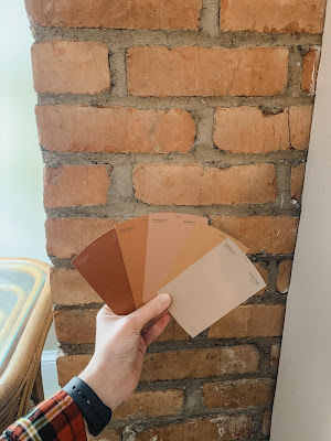 Behr Paint color swatches