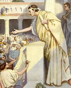 "cicero leader of rome essay Princeps – official title of a roman emperor, meaning ""first citizen""  checked by  cleaver political maneuvering on the part of consul cicero, it showed that a."