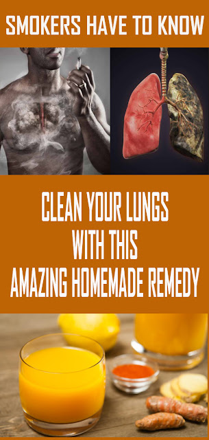 CLEAN YOUR LUNGS WITH THIS AMAZING HOMEMADE REMEDY