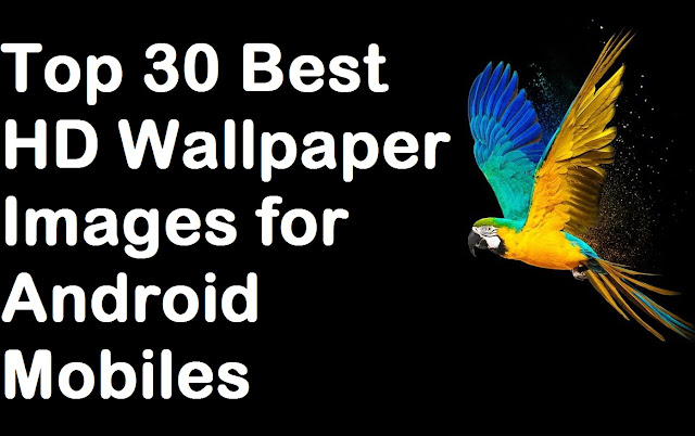 Top 30 Best HD Wallpaper Images for Android Mobiles