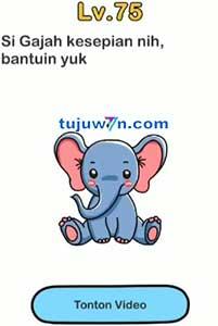 Brain out si gajah kesepian nih bantuin yuk