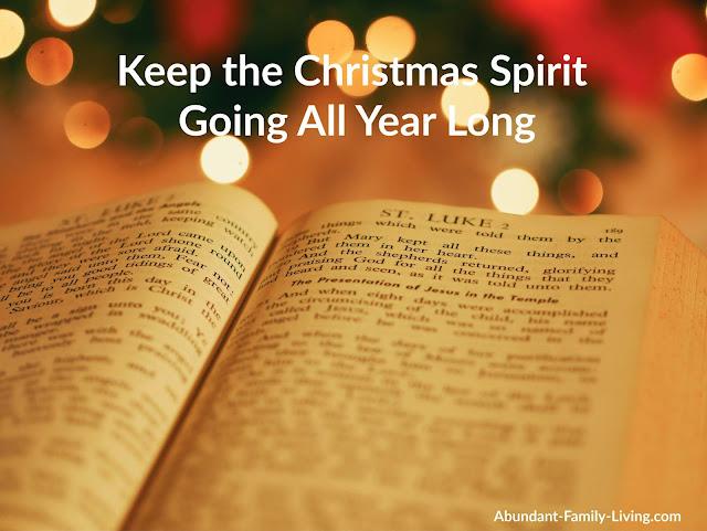 Keep the Christmas Spirit Going