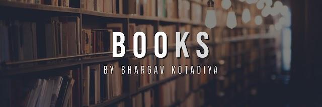 List of books by Bhargav Kotadiya