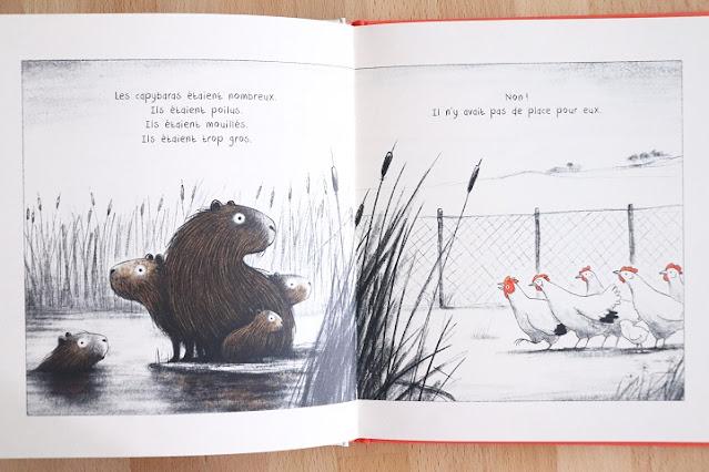L'arrivee des capybaras - didier jeunesse