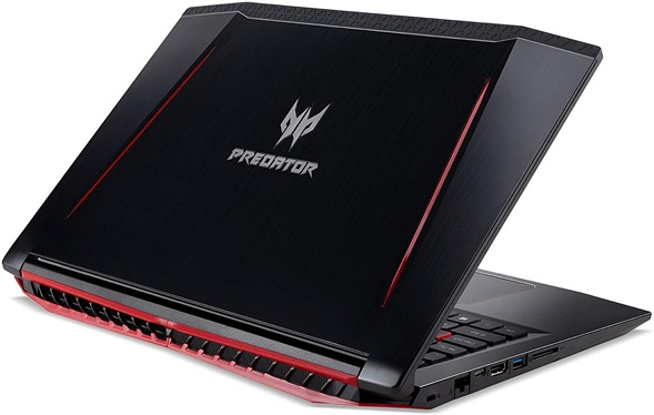 Acer Predator Helios 300 NH.Q3FEB.012: portátil gaming Core i5 con gráfica GeForce GTX 1060 (6 GB) y Windows 10 Home