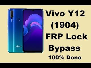 Google Account FRP Bypass 2020 Vivo 1904 Tanpa PC