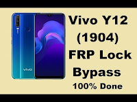 Unlock FRP Vivo Y12 Google Account FRP Bypass 2020 Vivo 1904 Tanpa PC