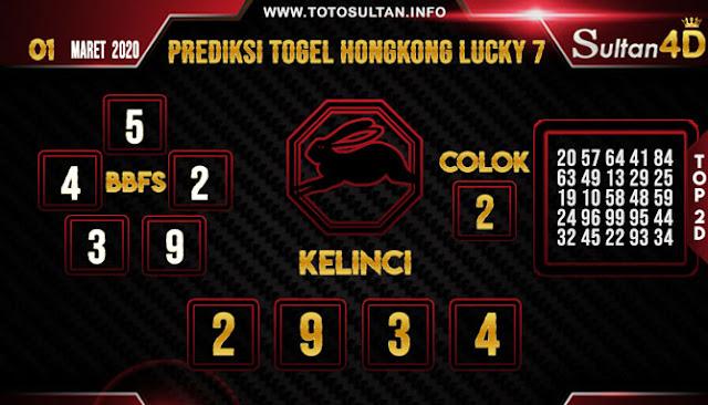 PREDIKSI TOGEL HONGKONG LUCKY 7 SULTAN4D 01 MARET