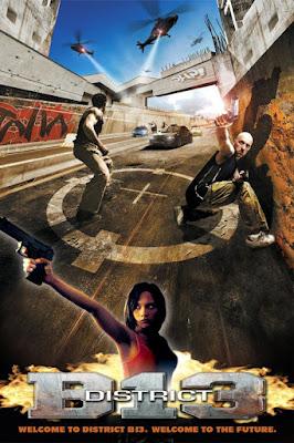 Póster película Distrito 13 - Banlieue 13