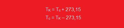 Fatores de conversão para unidades de temperatura