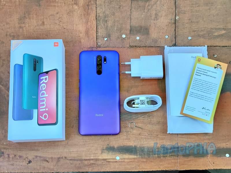 Paket Pembelian Xiaomi Redmi 9
