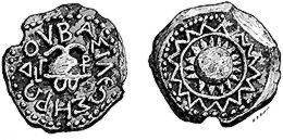 Медна монета на Ирод Велики