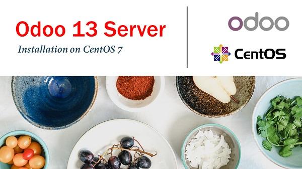 Install Odoo 13 Server on CentOS 7