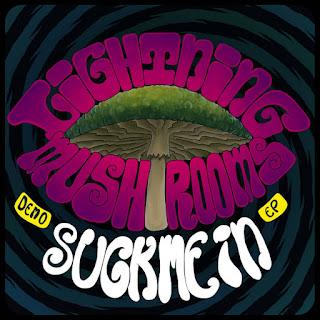 "Debut desert rock EP ""Suck Me In Demo"" by Lightning Mushrooms"