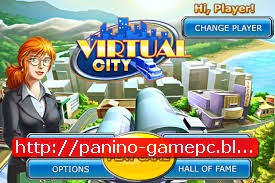 Virtual City For  PC Free Download Game