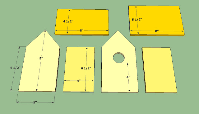 El blog de la elena un blog dulce divertido y entretenido como construir una casa nido para - Casa para pajaros ...
