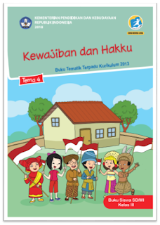 download gratis buku tematik kelas 3 tema 4