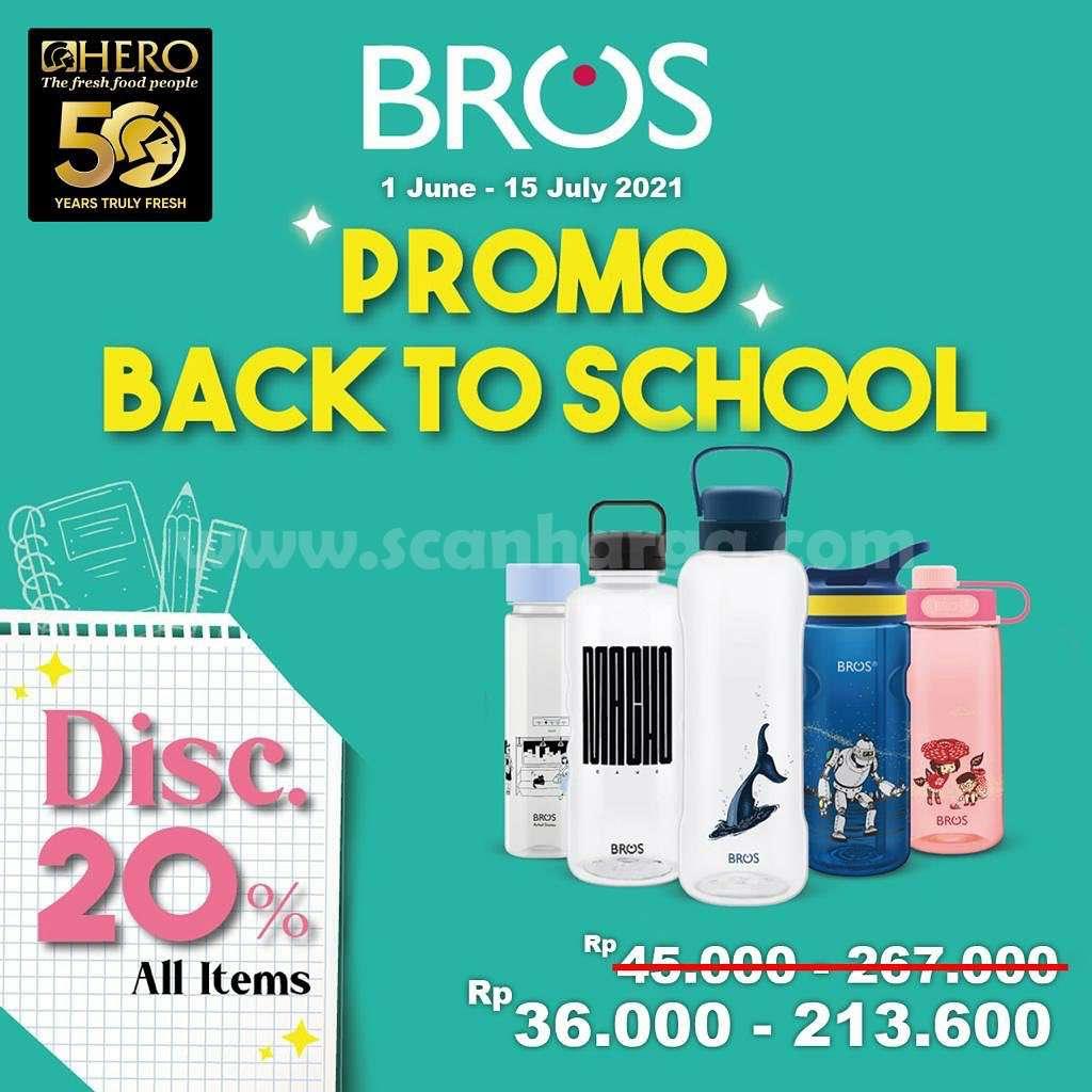 HERO Supermarket Promo Back To School Periode 1 Juni - 15 Juli 2021