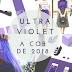 ULTRA VIOLET a cor tendência de 2018 segundo Pantone
