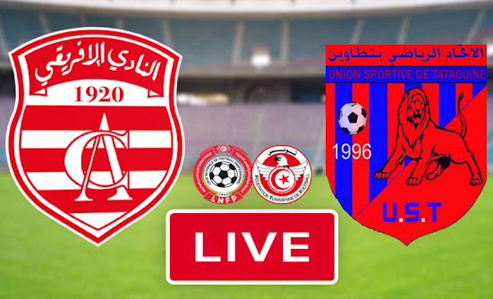 Watch Ligue 1 Tunisie Match Club Africain vs US Tataouine Live Streaming