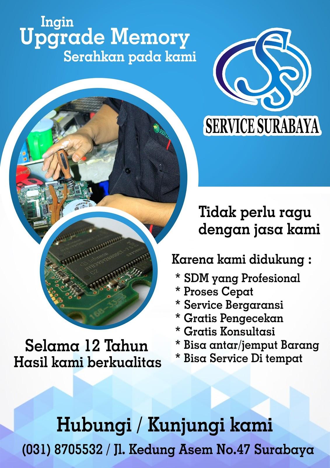 Servis Laptop Surabaya Januari 2018