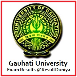 Gauhati University TDC Results 2015