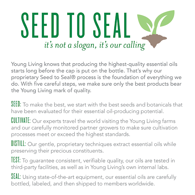 Young Living, Seed to Seal  Member #2481355