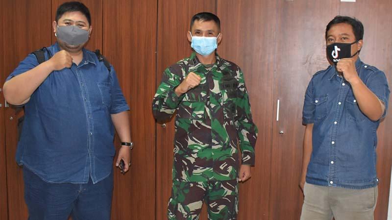JBN Jalin Silaturahmi Bersama Kepala Penerangan Kodiklatad