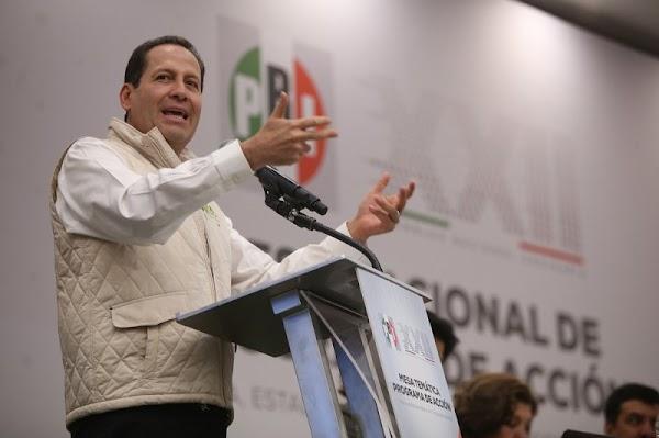 Eruviel Ávila asegura que sea quien sea el candidato del PRI ganaran la presidencia, el pueblo nos quiere..