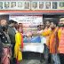 पुलवामा शहीद की बरसी पर विश्व हिंदू परिषद एवं बजरंग दल द्वारा रक्तदान शिविर का आयोजन