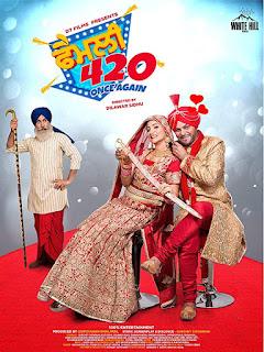 Download Family 420 Once Again (2019) Punjabi Movie HDRip 480p
