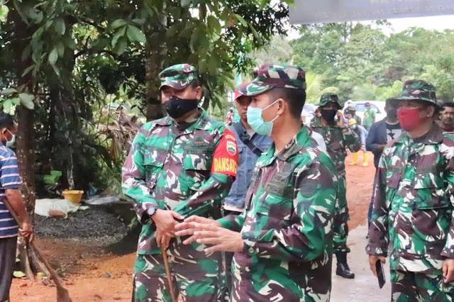 Kapendam I/BB : Melalui TMMD, TNI Hadir Untuk Penuhi Harapan Rakyat
