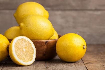 Manfaat Lemon Untuk Wajah Bopeng