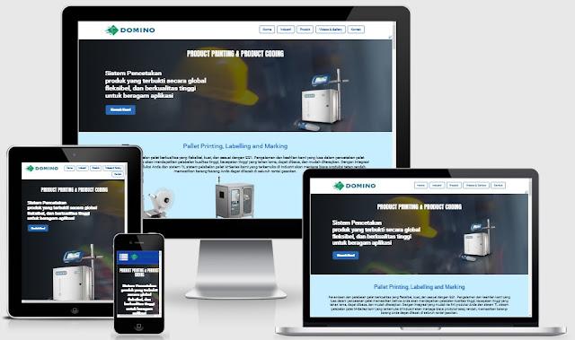 Custom Desain Website Termurah
