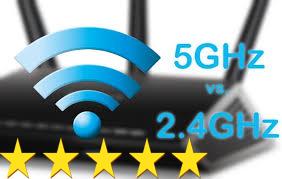 الفرق بين شبكات Wi-Fi 2.4 GHz و Wi-Fi 5 GHz اللاسلكية