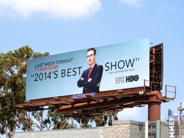 Last Week Tonight John Oliver Emmy billboard