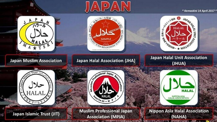 Logo Halal Jepun