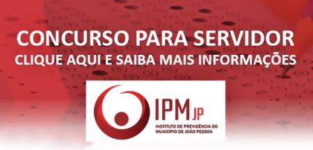 Concurso IPM-JP João Pessoa 2018