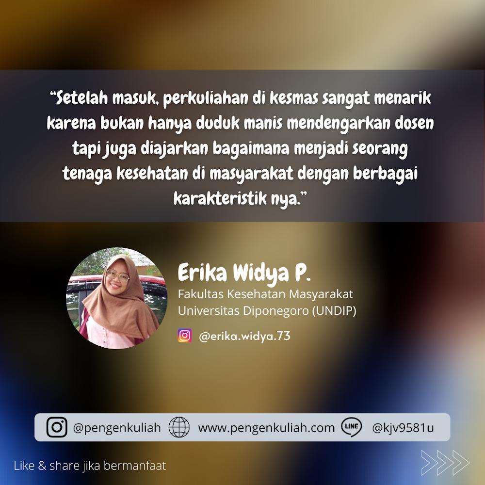 Erika Widya P - Fakultas Kesehatan Masyarakat UNDIP