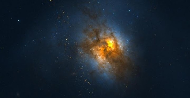 Griffin and Dai developed the data collection methodology used to detect the gamma-ray emission from Arp 220. Credit: University of Oklahoma and NASA
