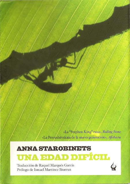 Una edad difícil, de Anna Starobinets