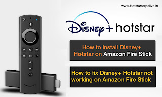 How to install Disney+ Hotstar on Amazon Fire Stick