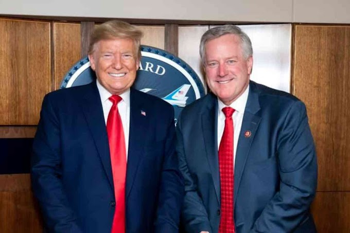 White House Chief of staff, Mark Meadows 'tests' positive for COVID-19