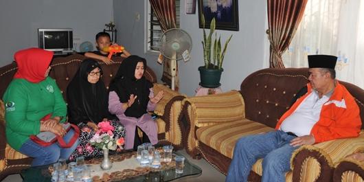 Wagub Nasrul Abit Imbau Warga Sumbar Doakan Kesembuhan Zulfirmansyah