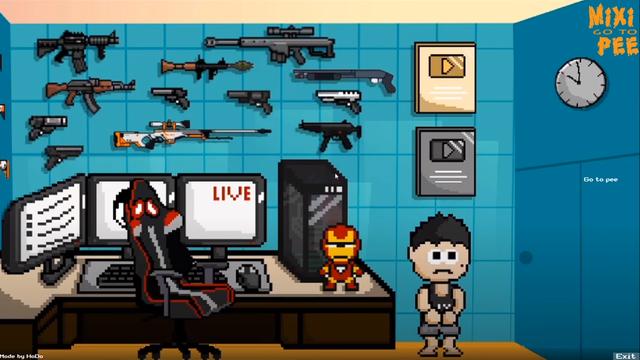 Cách tải game về anh Độ Mixi - Game Seven Floor