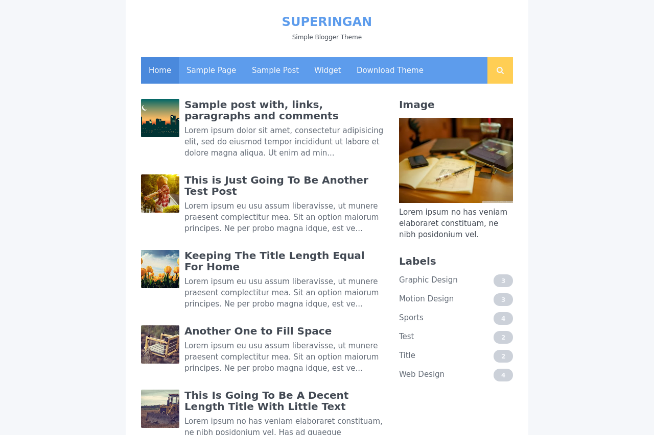 Best Free Blogger Theme (Template) for Magazine, News Site, or Personal Blog
