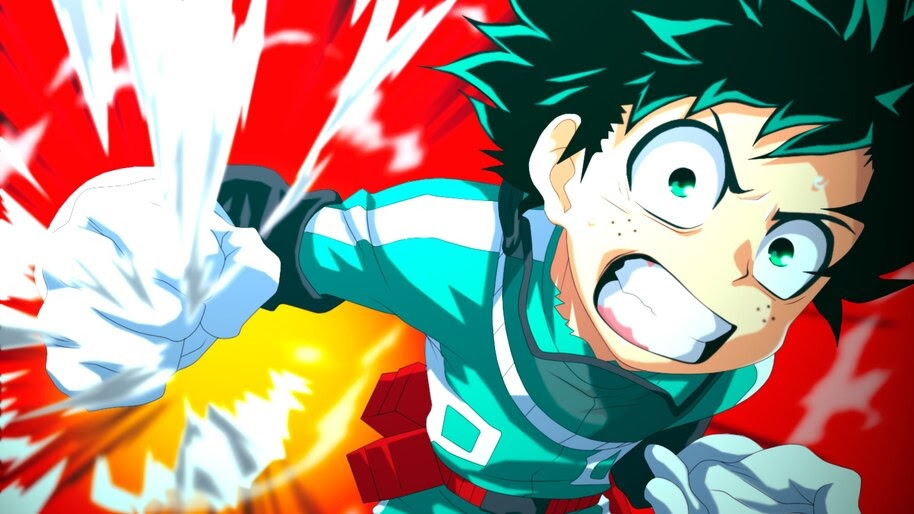 — like/reblog if you use them. Izuku Midoriya, My Hero Academia, 4K, #5.188 Wallpaper