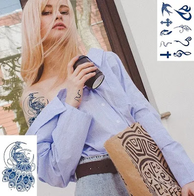 Real Mermaid Tattoos For Women