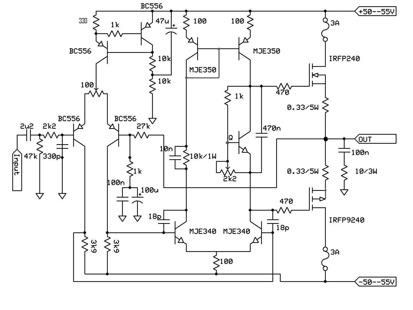 Ro Electronica Amplificator Cu Tranzistoare 160w Mosfet